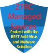 ZTRC Managed Services shield  98X 110