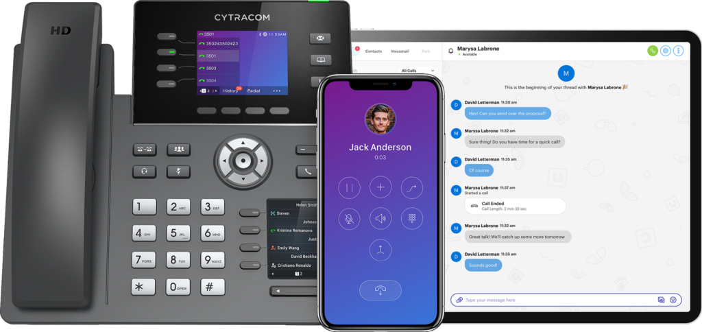Cytracom Solutions-Desktop, Mobile Apps, and Phones.