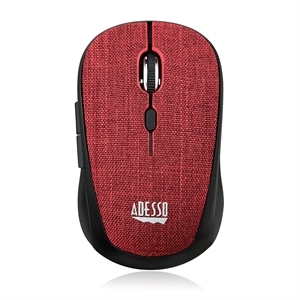 computer mouse red