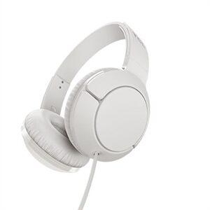 White On-ear Headphones